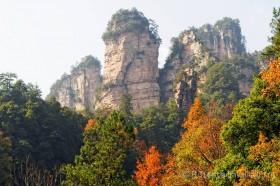 осень в чжанцзяцзе китай