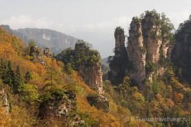 тяньши гора в национальном парке чжанцзяцзе китай