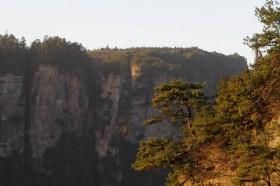закат в чжанцзяцзе заповедник китай