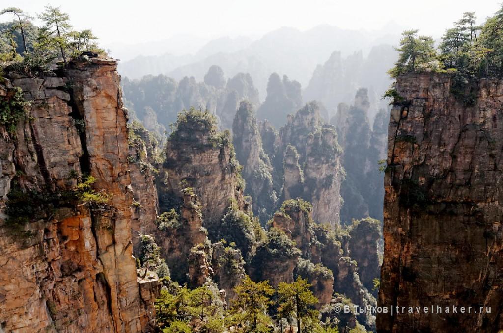 фото туры в чжанцзяцзе китай