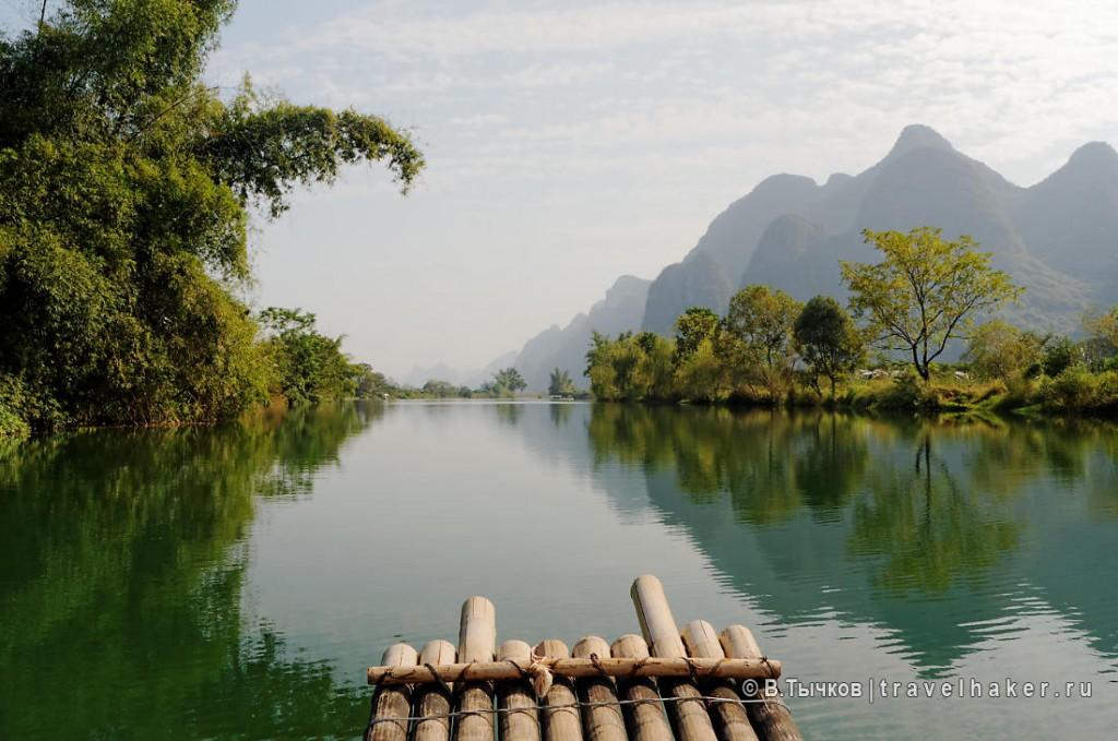 китай фото экскурсионных туров в гуйлинь яншо