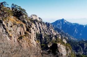 горы хуаншань китай