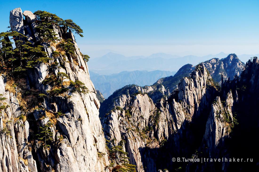 горы хуаншань в китае - фото