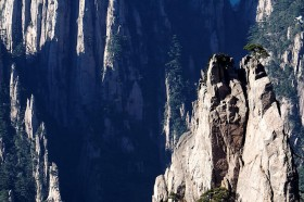 фото гор хуаншань китай