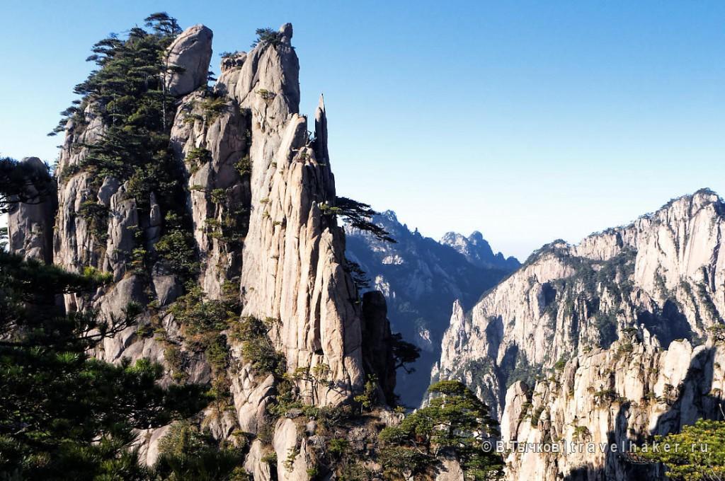 природа китая - горы хуаншань
