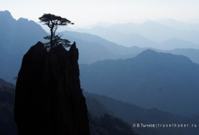 Хуаншань, Китай - фото