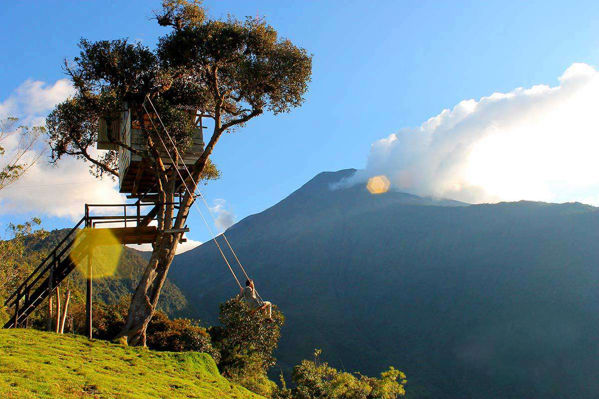 Домик на дереве, Эквадор, Баньос