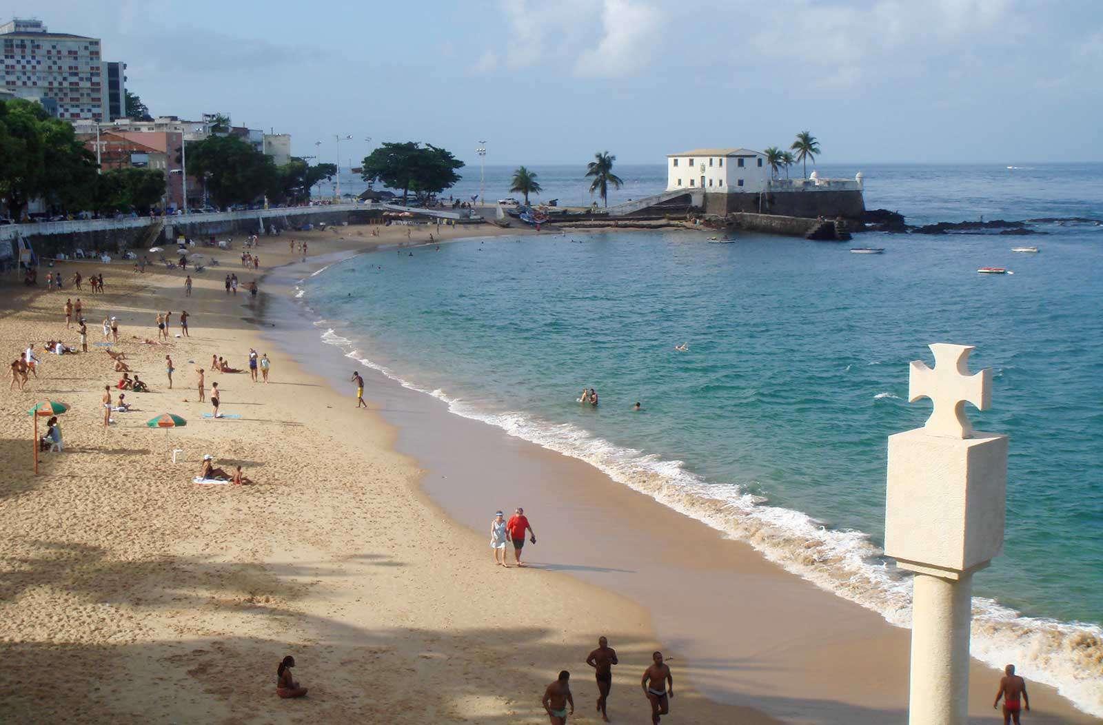 пляж сальвадора, бразилия