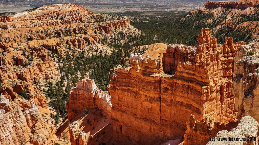 Колонны Брайс-каньона