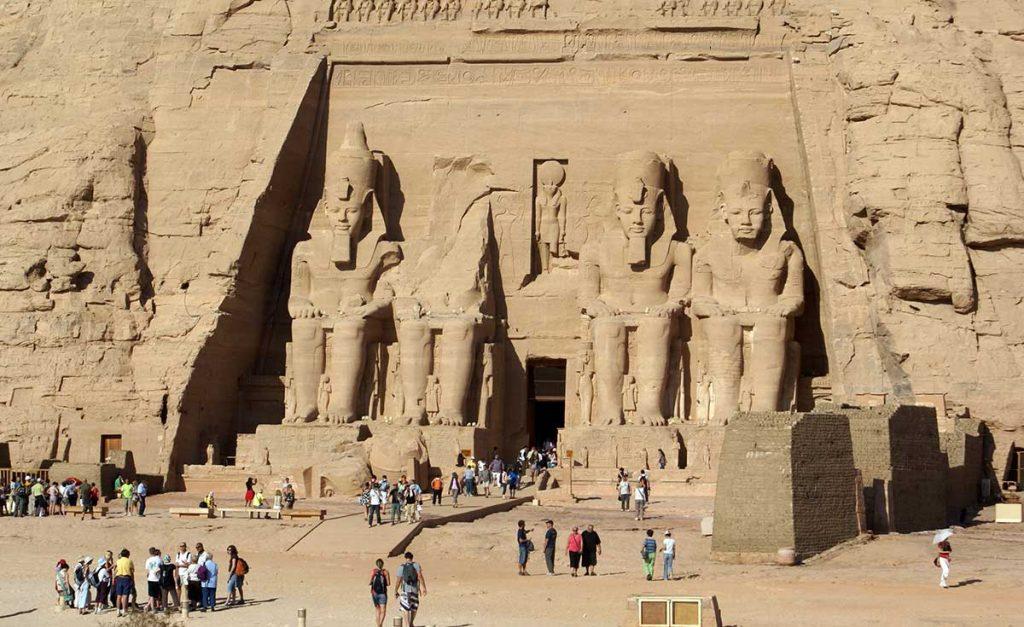 храм абу симбел египет тур по нилу