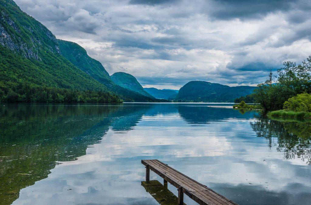 озеро бохинь тур по словении