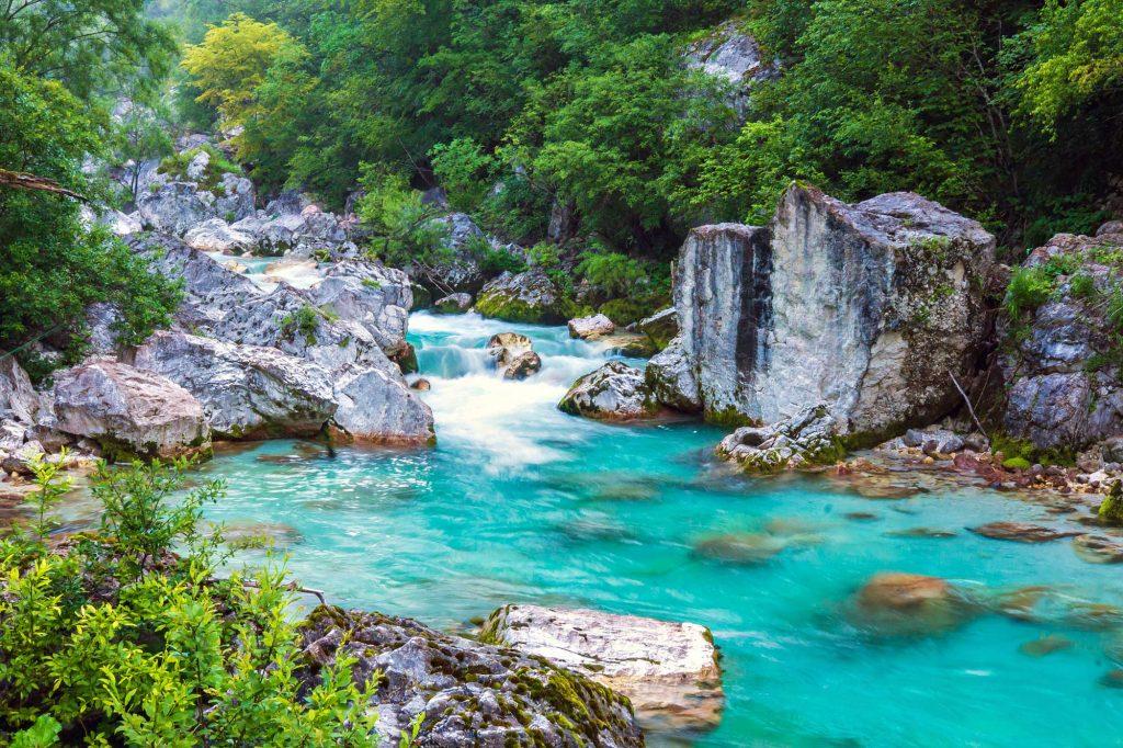 река соча в словении тур