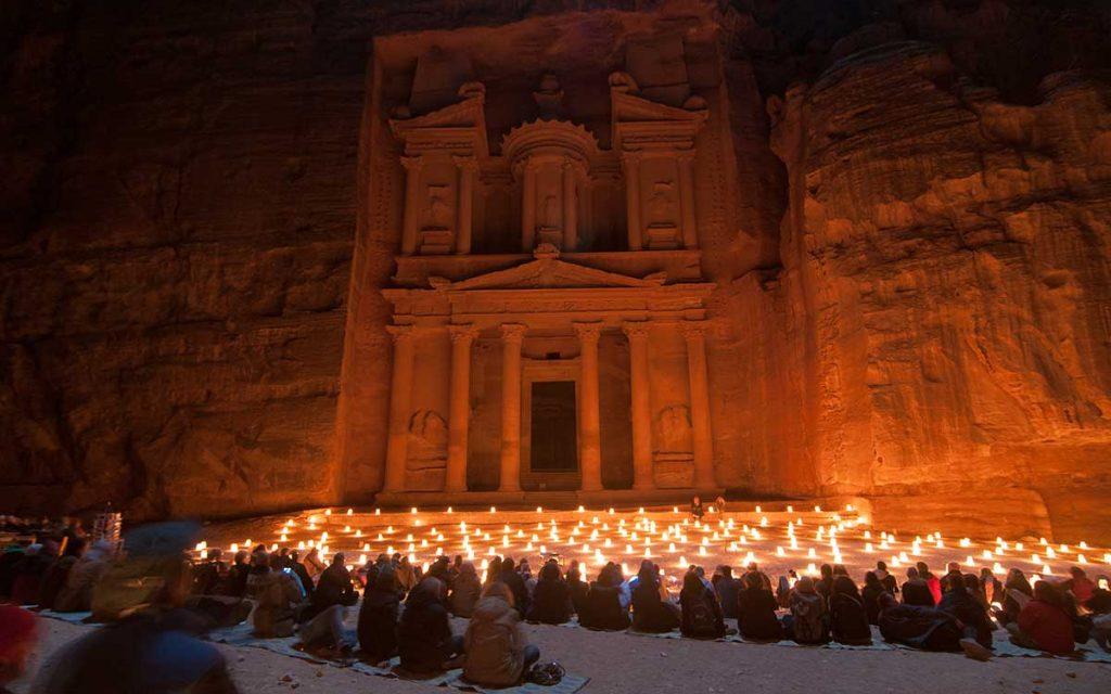 ночь в петре иордания тур треккинг