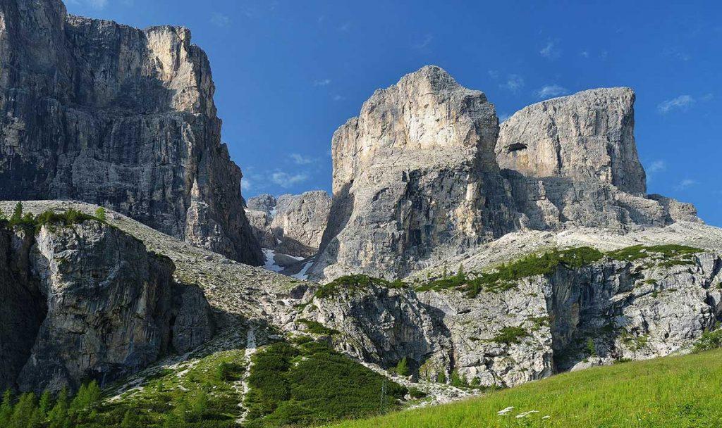 долина вал сетус в доломитах италия