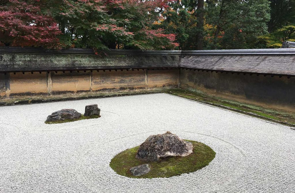 сад камней реан-дзи япония
