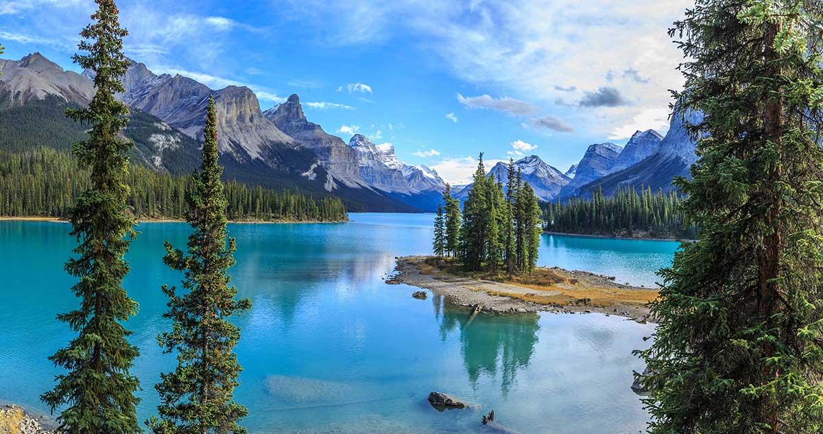 тур в канаду на неделю остров спирит и озеро малайн