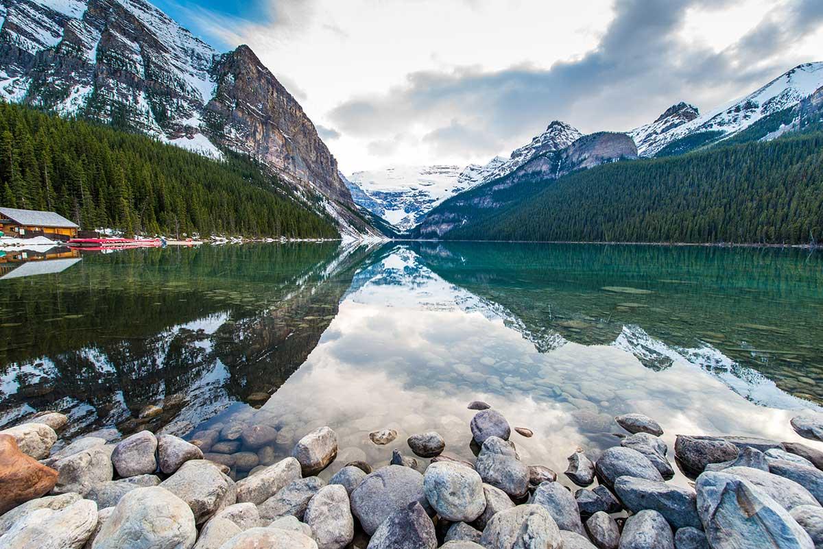 тур в канаду озеро луис