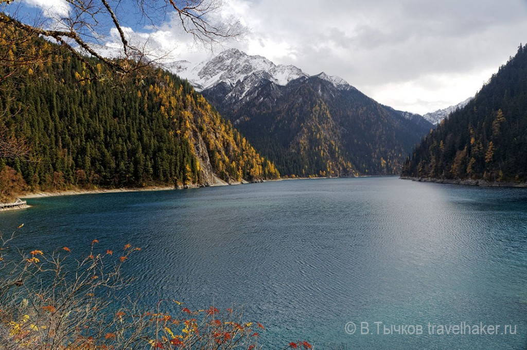 цзючжайгоу долина китай длинное озеро
