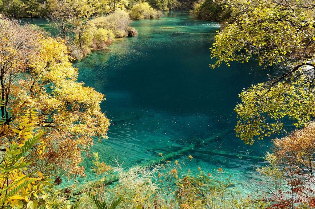 цзючжайгоу озера шушенг
