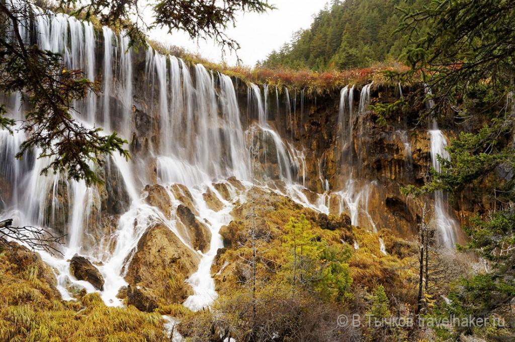 цзючжайгоу водопад нуориланг