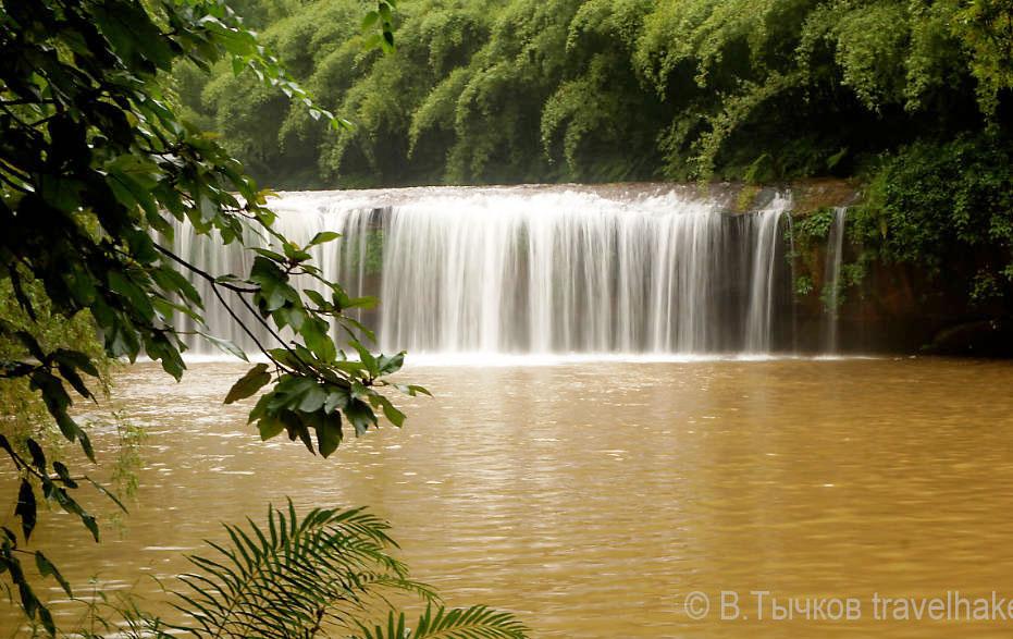 фото китая водопады Чишуи
