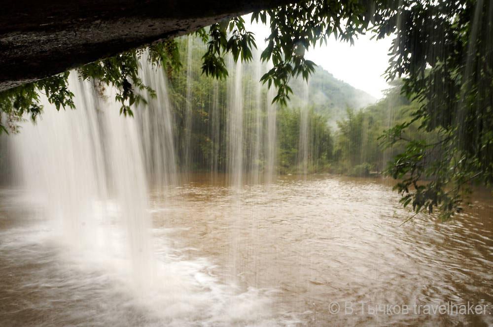 водопады китая чишуи природа