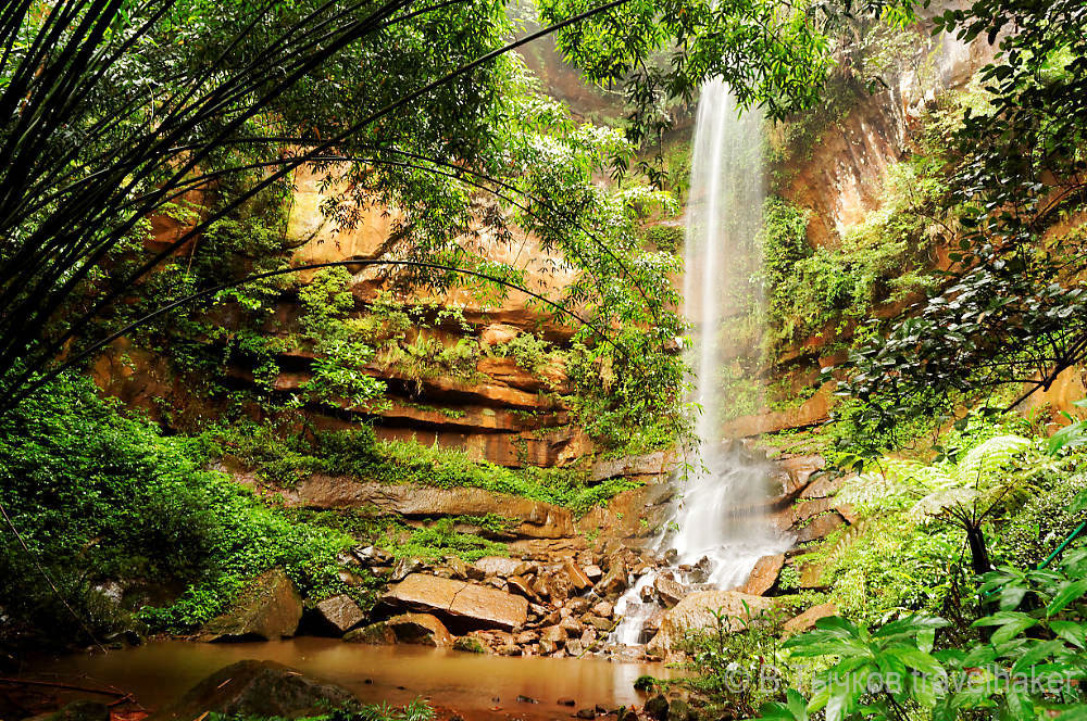 водопад китай чишуи
