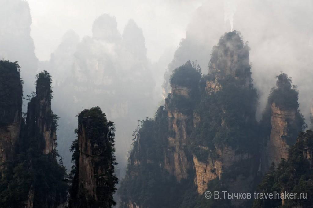 парящие горы чжанцзяцзе китай