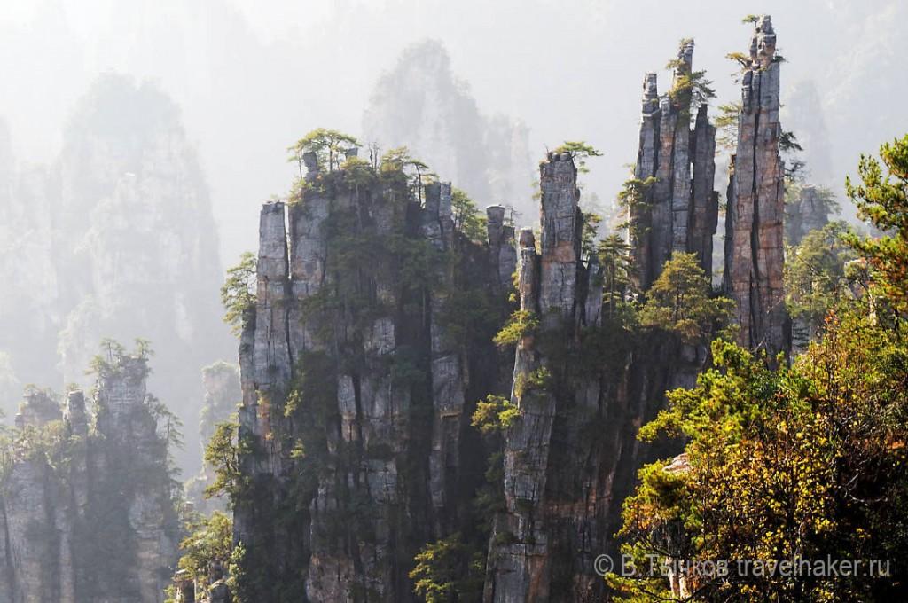 чжанцзяцзе национальный парк