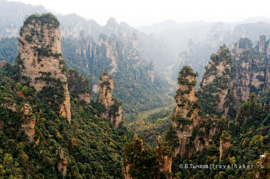 чжанцзяцзе экскурсионные туры китай