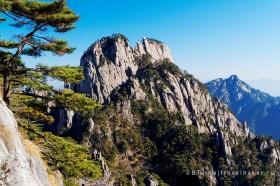 скалы в хуаншань