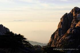облака и туман в хуаншань