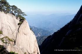 в китайских горах хуаншань