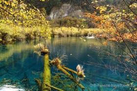 синяя вода в цзючжайгоу