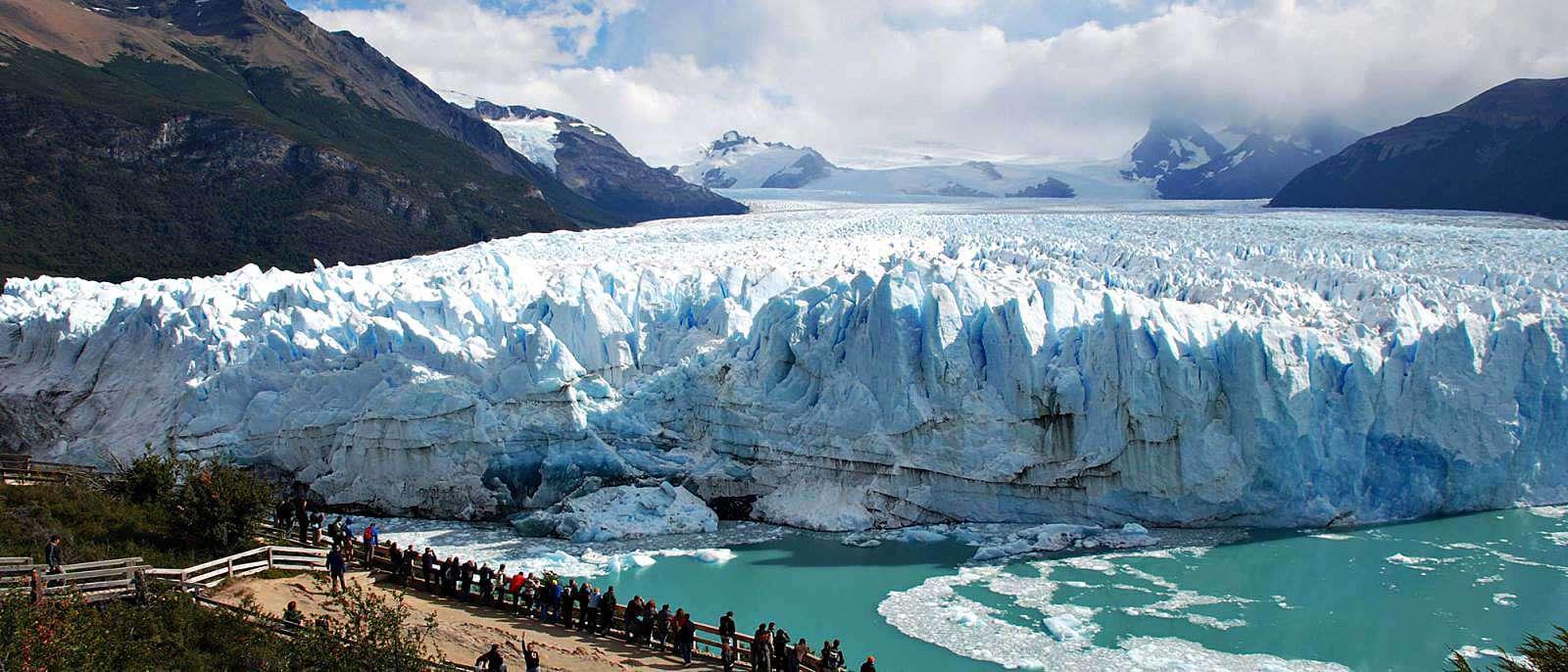 Патагония - ледник Перито Морено