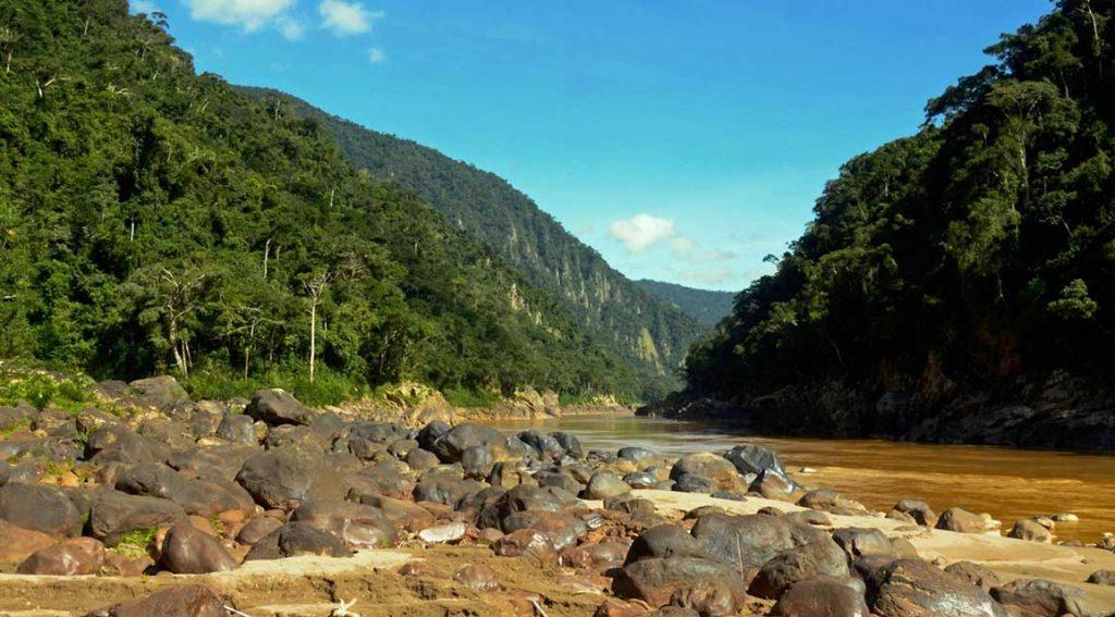 каньон джунгли боливия