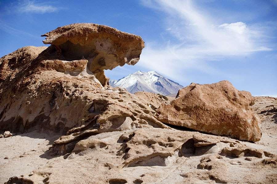 Лавовые поля, альтиплано, Боливия