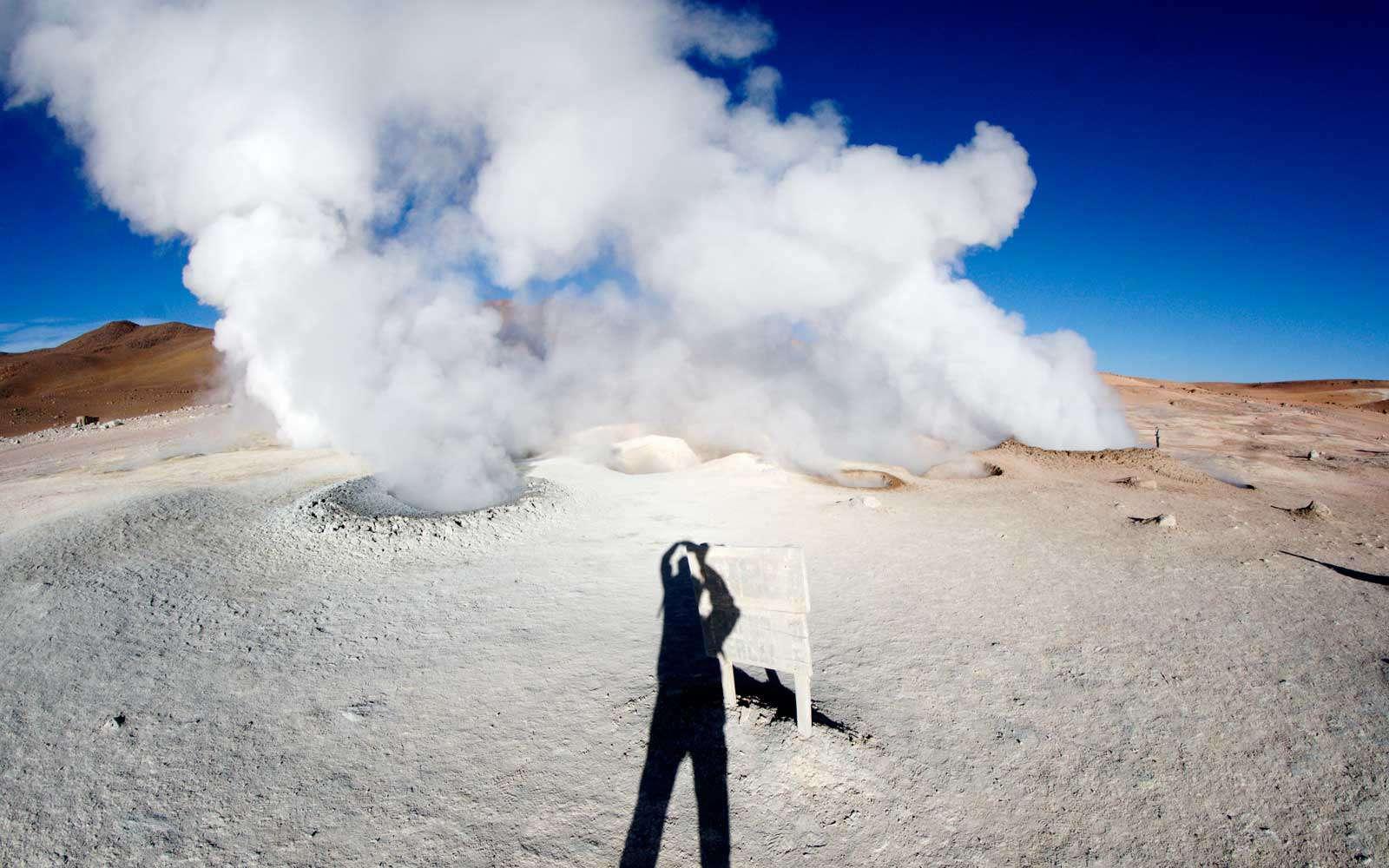 Гейзеры Соль де Маньяна, альтиплано, Боливия