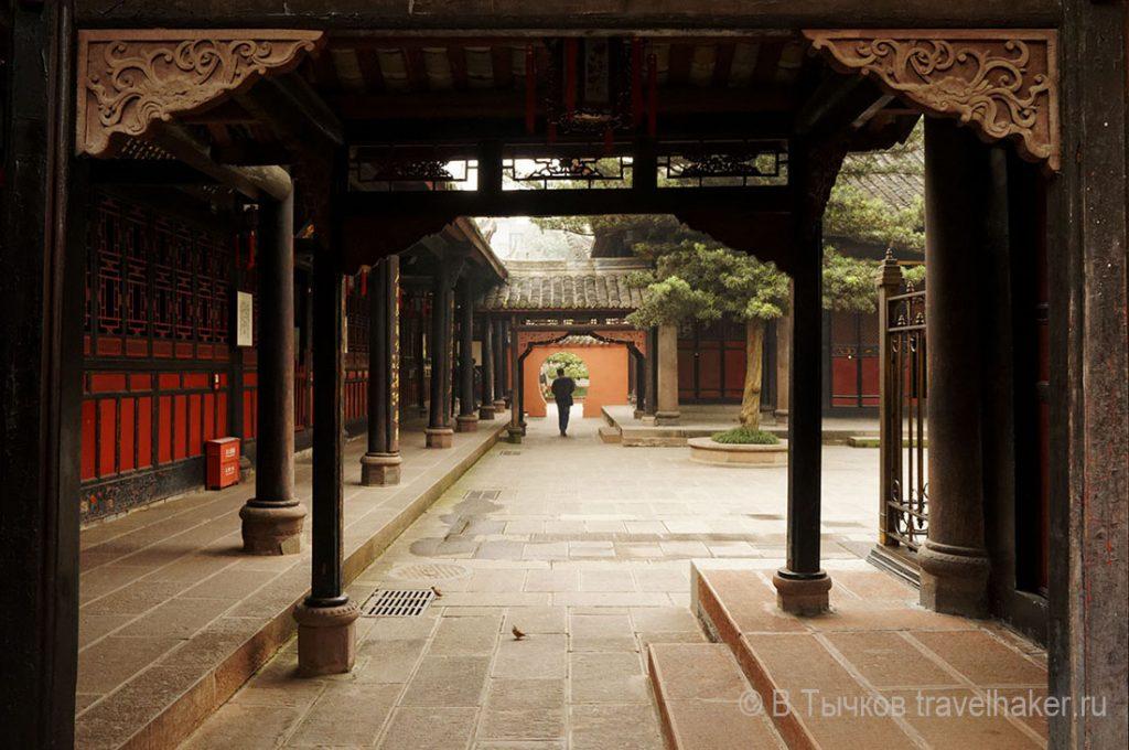 храм веншу в ченду