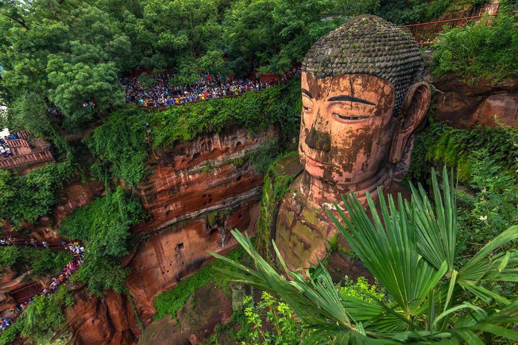 статуя гигантского будды в лешане