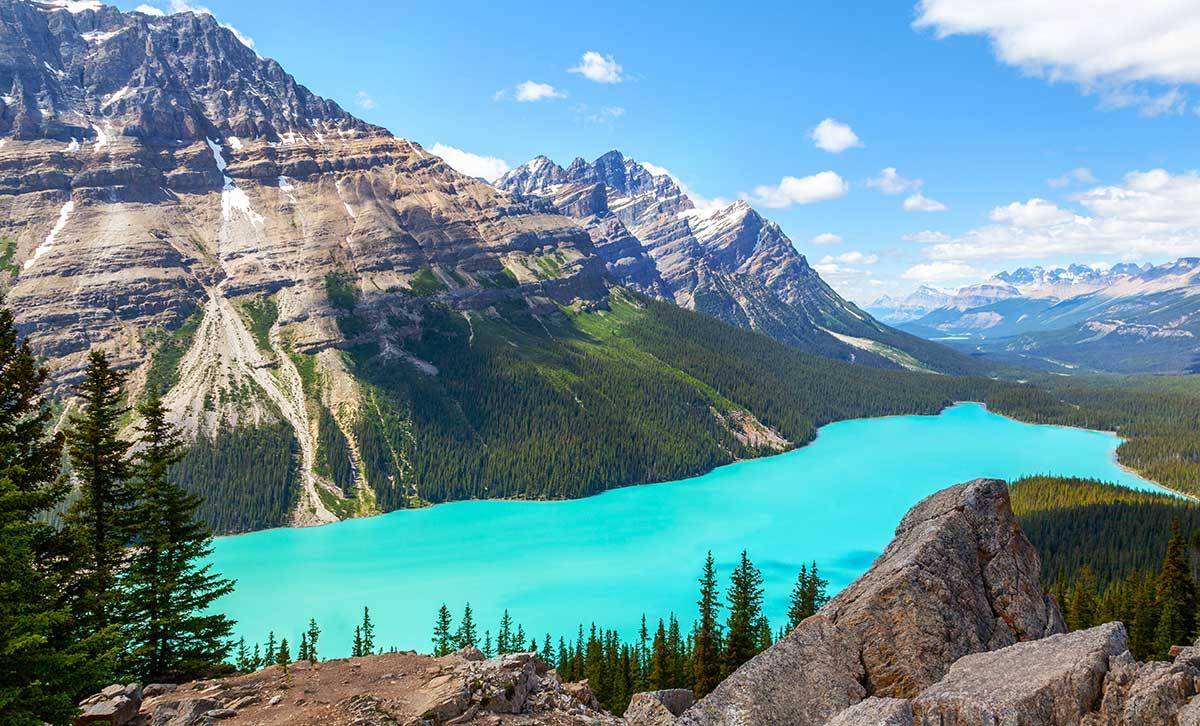 тур в канаду озеро пейто