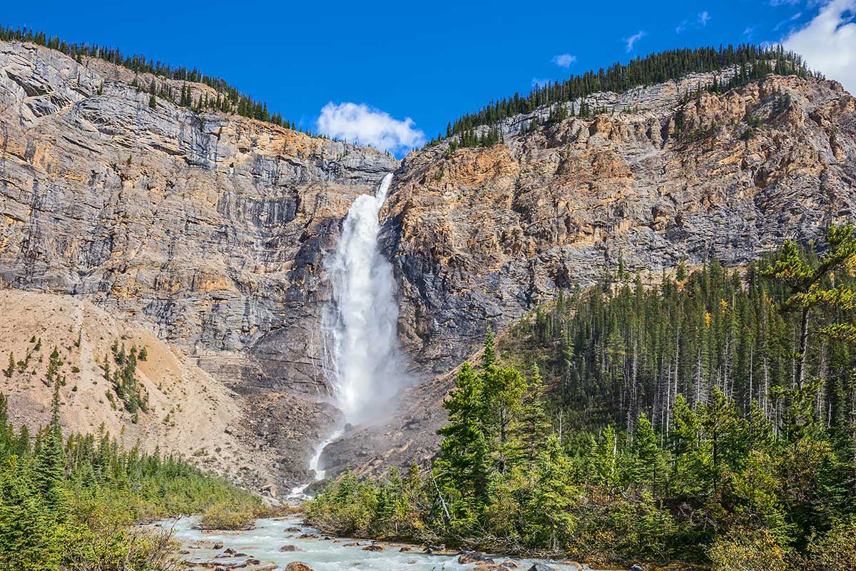 водопад такаккау тур в канаду