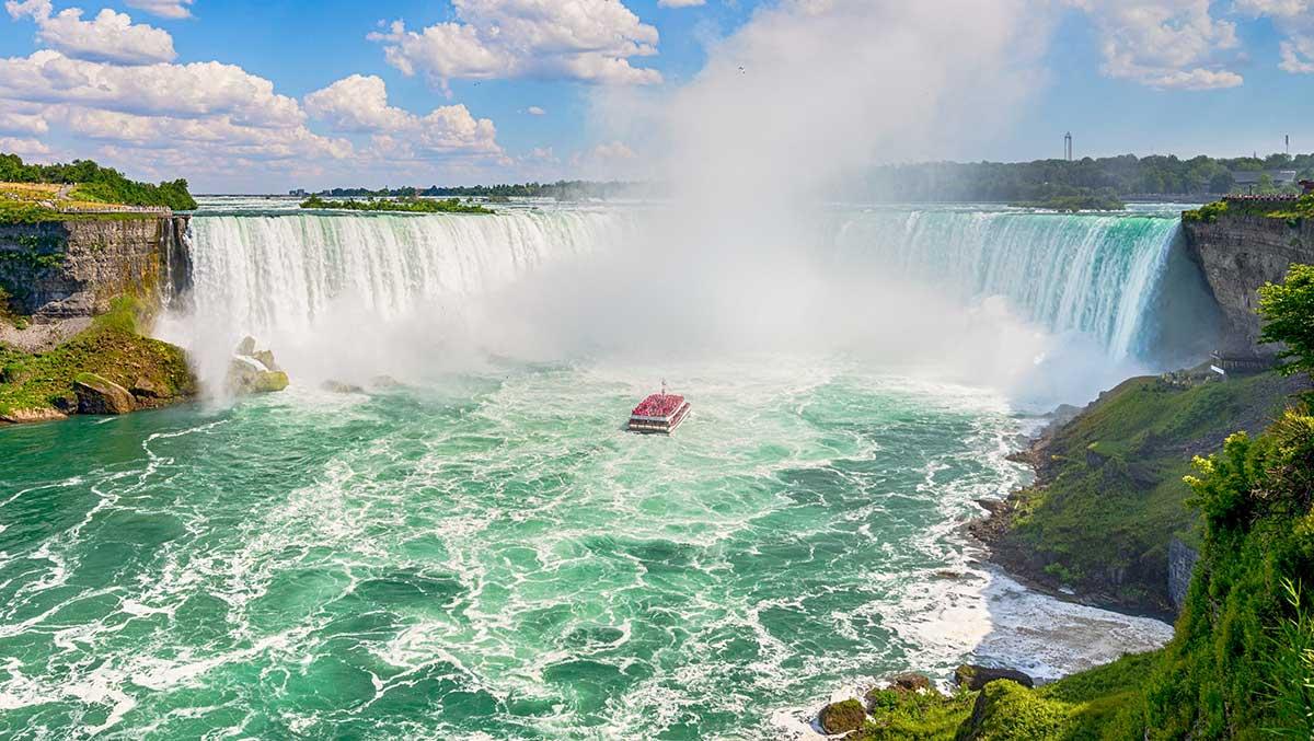 тур в канаду на неделю водопад ниагара