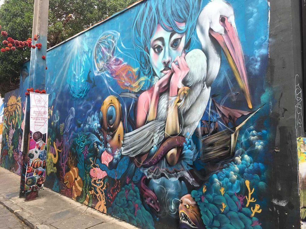 графити вальпараисо чили